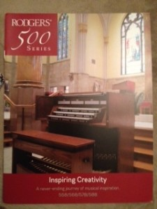 Rodgers Organ Brochure