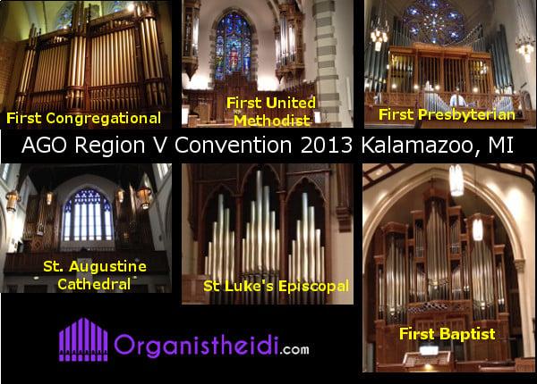 Kalamazoo, MI Pipe Organs