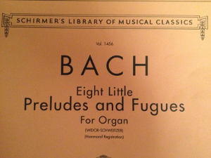 Eight Little Preludes and Fugues by J.S. Bach