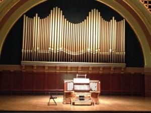 Hill Auditorium Pipe Organ