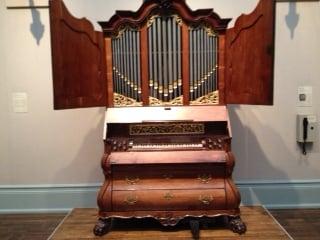 1785 Johannes Strumphler Cabinet Pipe Organ