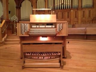 Maritn Ott Opus 100, Jardine & Sons 1899 Pipe Organ Console