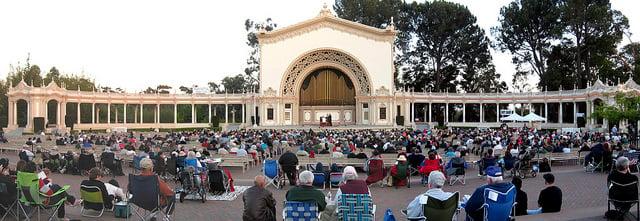 Spreckels Organ Pavilion, San Diego, CA