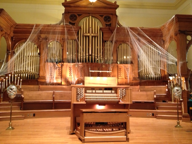Martin Ott, Op. 110 installed in First Presbyterian Church, Ypsilanti, Michigan