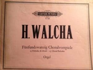 Helmet Walcha's Chorale Preludes