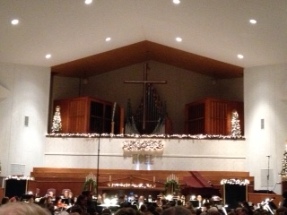 Adrian College Lessons and Carols Service