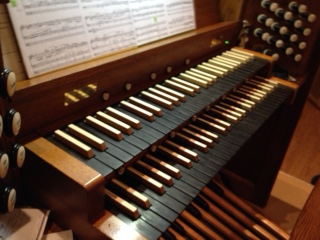 St. Rose organ manuals