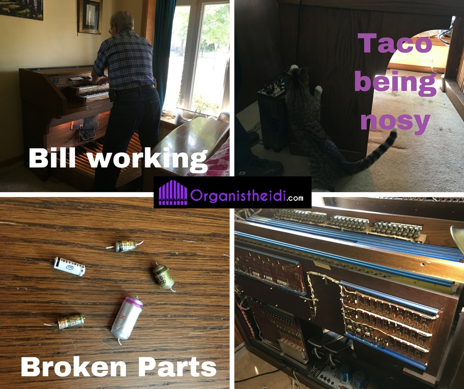 Saville organ repair